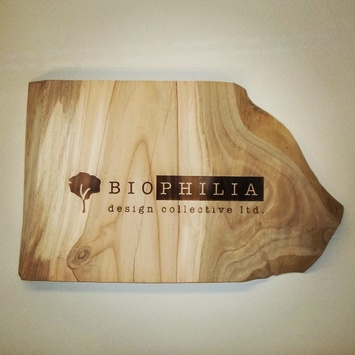 Engraved Eucalyptus sign
